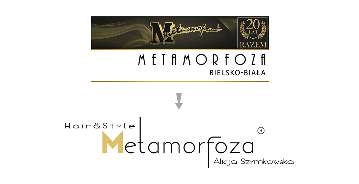 new logo before after