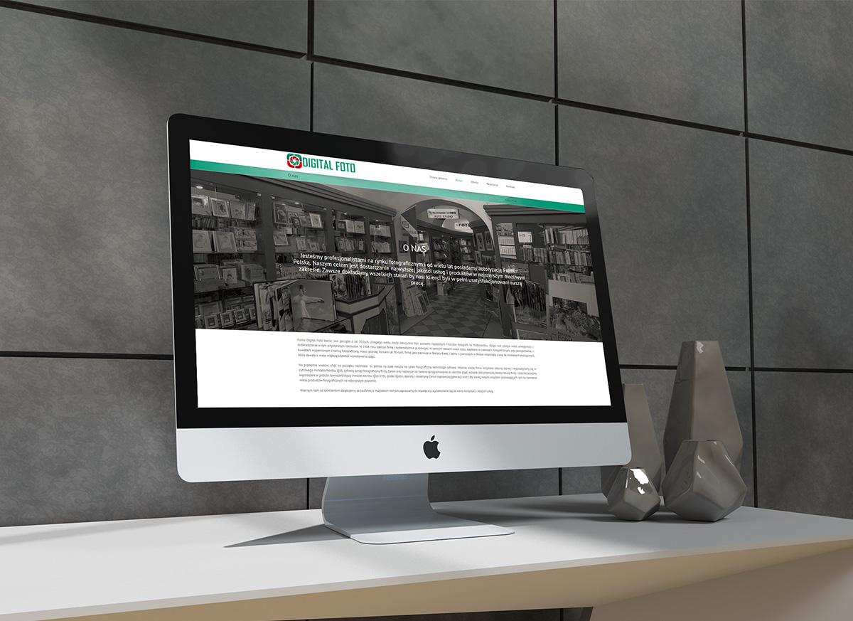 projekt strony internetowej dla firmy z Bielska-Białej