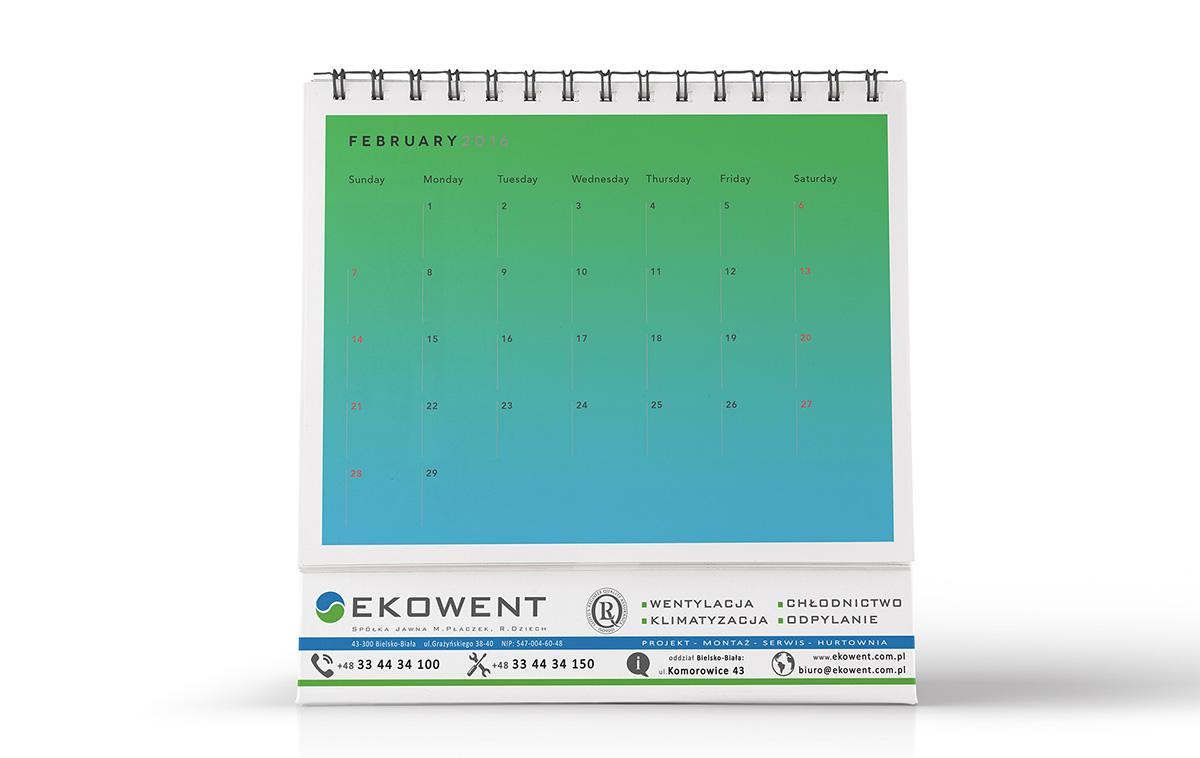 kalendarz projekt